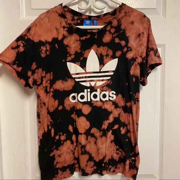 Custom acid dye adidas shirt